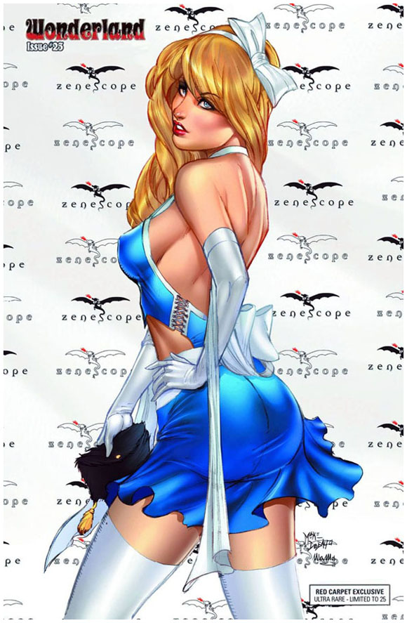 Grimm Fairy Tales Presents Wonderland 25 BlueDress