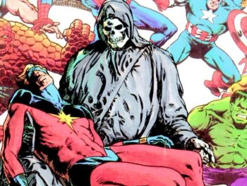 TOP 10 SUPERHERO DEATHS IN COMICS